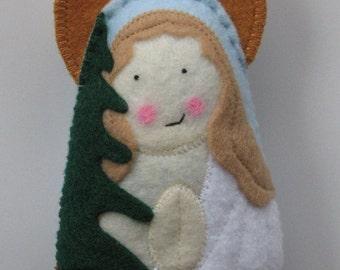 Saint Susanna Old Testament Felt Saint Softie