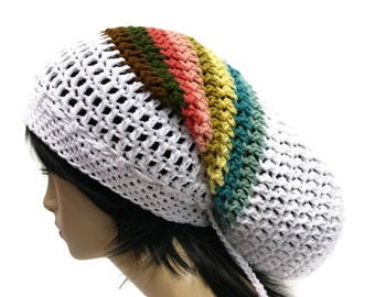 Dread Tam Festival Wear Crochet Hippie Hat Beanie Limited Time Sale Priced