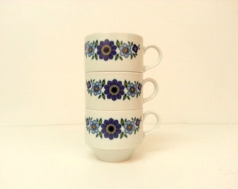 MITTERTEICH BAVARIA cups . set of 3