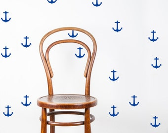 Anchor Wall Decals - Anchor Decals - Nautical Wall Mural Decal - Kid Decal - Statement Decal - WD1032