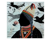 Sami Girl - Limited Edition Archival Inkjet (Giclée) Print