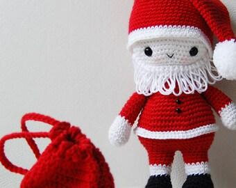 Amigurumi Pattern - Santa Claus