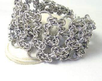 Sterling Silver Byzantine Filigree Bracelet
