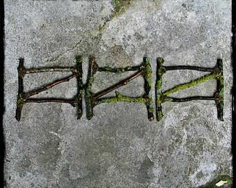 Faery Garden Twig Fence