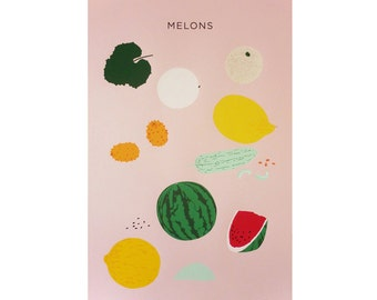 MELONS print, second edition / Plant Planet