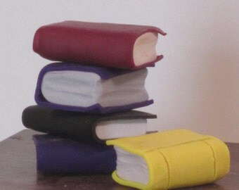 Miniature hand made larger books