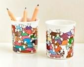 Colourful Sheep Little Pot