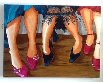 Life of the Party Oil Painting