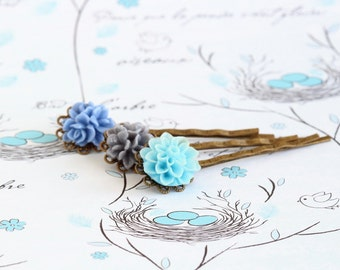 Easter Gift, Bobby Pins,Flower Girl Gift, Floral Accessories, Hair Pins, Hair Accessories, Gift For Woman, Mothers Day Gift