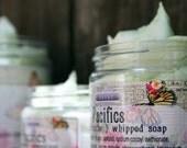 Soap Handmade Pacifics 4 oz Whipped Soap Creme Fraiche VEGAN