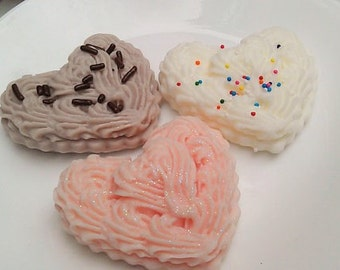Sweet Cookie Soap, Icing Cookie Soap, Dessert Soap, Bakery Soap, Soap Cookies