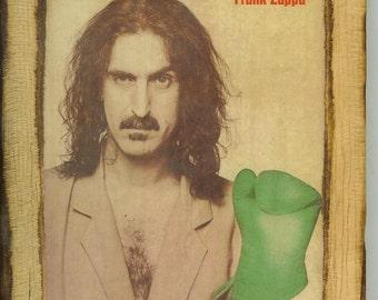 Frank Zappa - Wooden Plaque