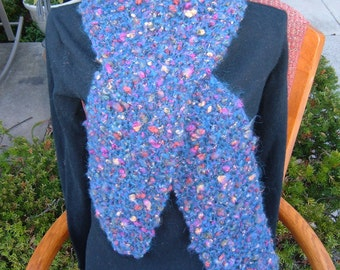 Super Sale - Pluto - 75 inch x 8 inch Knitted Scarf - FREE SHIPPING