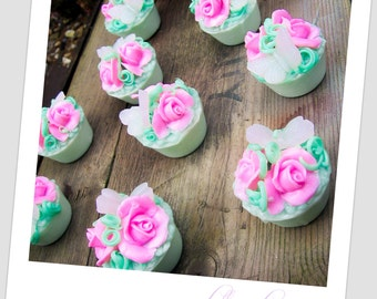 50 Beautiful Soap Tart Favors - the perfect party favor!