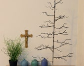 May Tree. Handwelded recycled steel tree for jewelry or decoration, Made to order