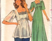 CUTE Vintage Uncut Butterick Pattern 4749 Size 14 from the 1970's