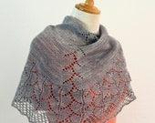 Cove Bay Lace Shawl PDF knitting pattern / instructions