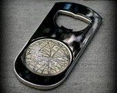 Lincoln Map Bottle Opener - As Seen in Imbibe Magazine