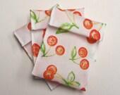 Jewelry Bead Pouches - 15 Cherry - Ribbon