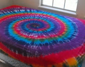 Tie Dye Queen-size Fitted Sheet