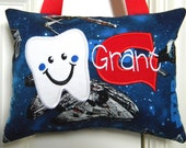 Boys Tooth Fairy Pillow Personalized Star Wars