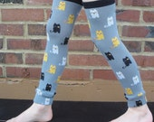 Baby and Kid Cat Leg Warmers - Arm Warmers/Leggings for Infant, Toddler, Kid and Tween - Gift for Boy or Girl - Fun and Functional Fashion