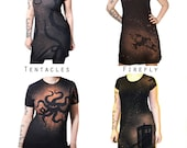 XLarge Dress YOU Pick the Design - Tentacles Tardis Robot Cthulhu