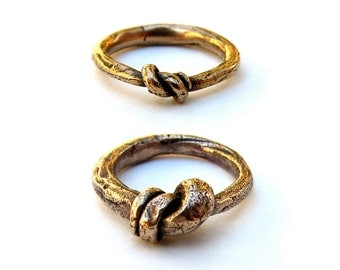 Knotted Ring Set