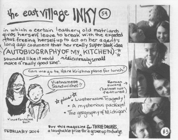 East Village Inky, Issue No. 54