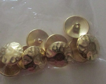 hat shaped set buttons set  of 8