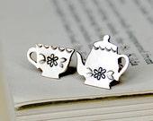 Tea for One earrings