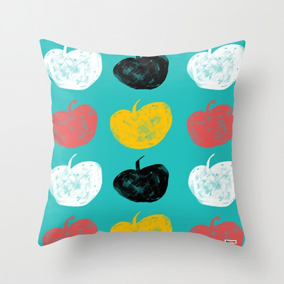Scandinavian Design Throw Pillows : Scandinavian Decorative throw pillow cover Colorful pillow