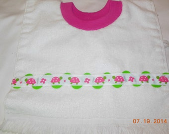 Turtles Baby/Toddler Slip On Bib