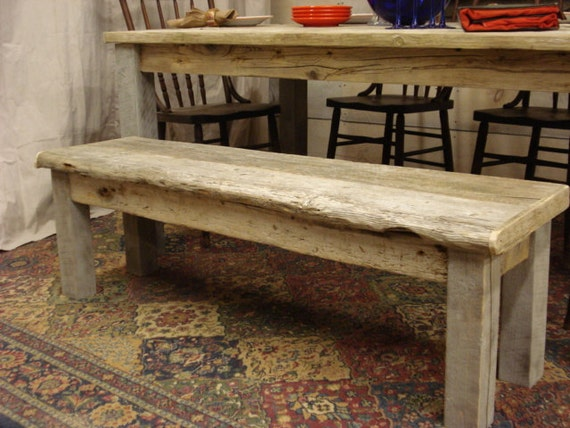 Driftwood Bench For Full Size Bed Or 65 By Driftwoodtreasures