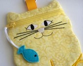Cute Yellow Cat Shaped Cell Phone Case iPhone iPod iPod Touch