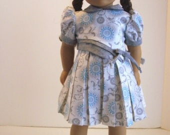 1930 School Dress for Kit, Molly or Emily- 18 inch dolls