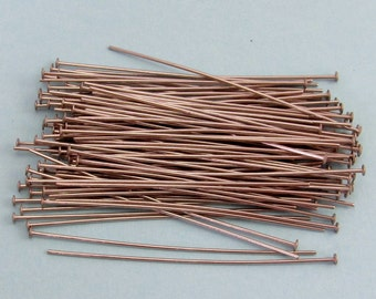 2 Inch Head Pins, Stainless Steel, 20 Gauge, 100 pieces, SS5