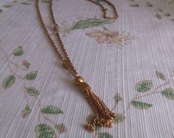 Retro 60's chain drop necklace
