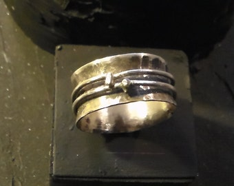 Sterling Silver Anticlastic Ring Made to Order