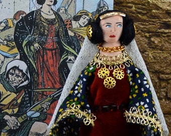 Black Agnes Doll Historical Art Miniature