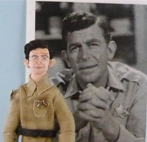 Andy Griffith Doll Miniature Actor Art Collectible