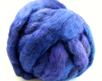 Gotland Dyed Wool Roving 3 Ounces - Crushed Grape