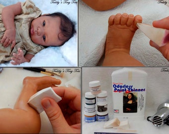 Painting Tutorial Instructions Reborning AA African American Reborn Doll Painting How-To