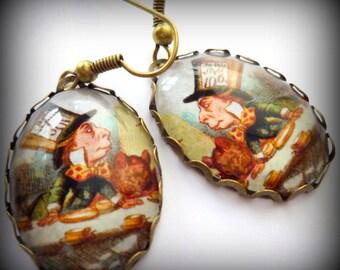Mad Hatter Earrings