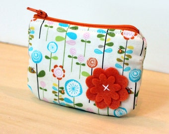 coin purse matching handbag girls Riley Blake happier