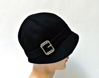 Cloche Hat - Design Your Own Custom Cloche - Made to Order in Your Size - 3 WEEKS FOR SHIPPING
