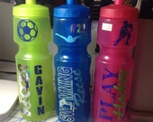 Personalized Monogramed Water Bottle