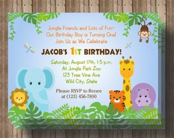 Zoo 1st birthday Etsy