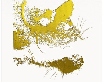 Golden Cat (Third from set of four)