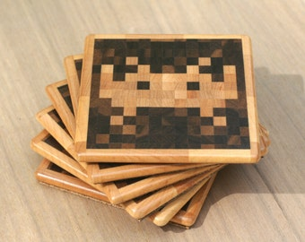 Space Invaders TM Coasters
